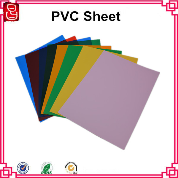 Top Quality thermoforming grade clear pvc sheet