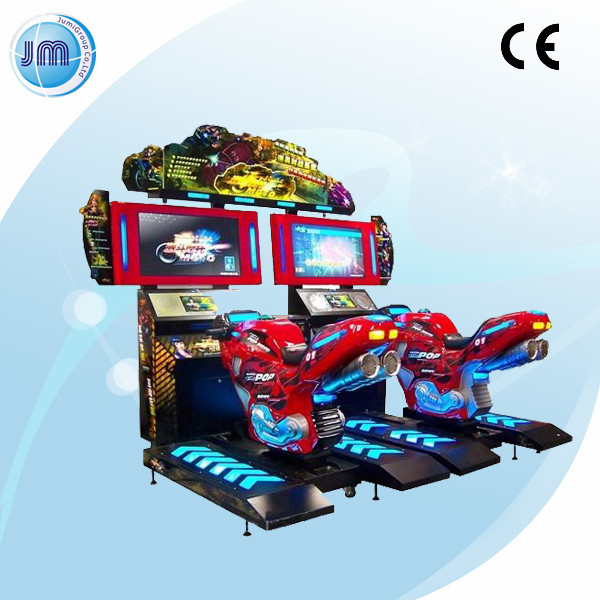 2014 GP moto bike new style and Hot sale arcade entertainment electronic motor bike game machine
