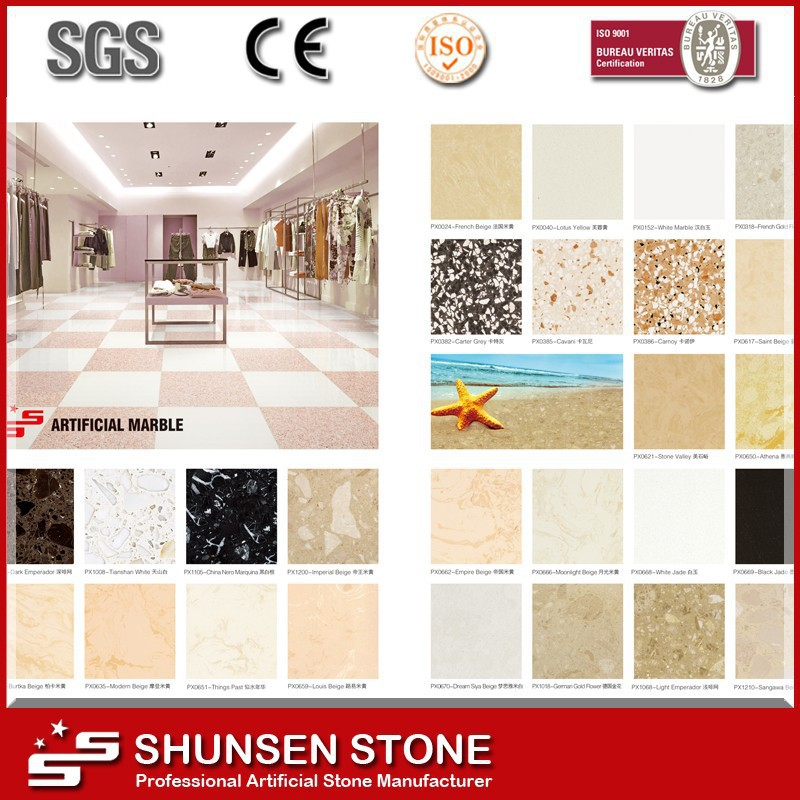 Artificial Granite Synthetic Marble for Interior Flooring