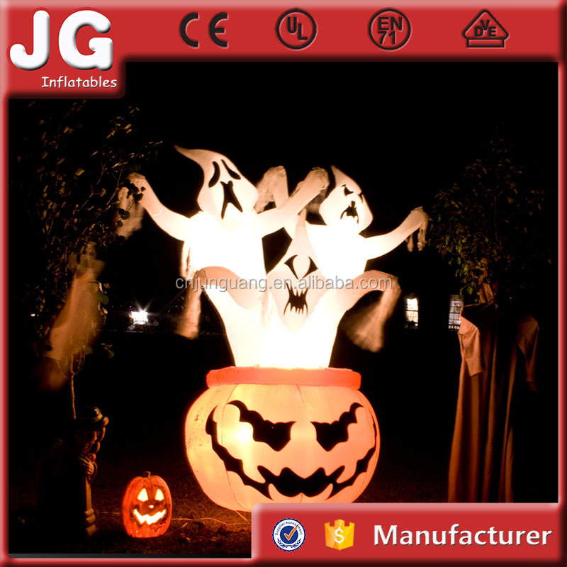 2017 Most Popular Halloween Inflatable Haunted House For