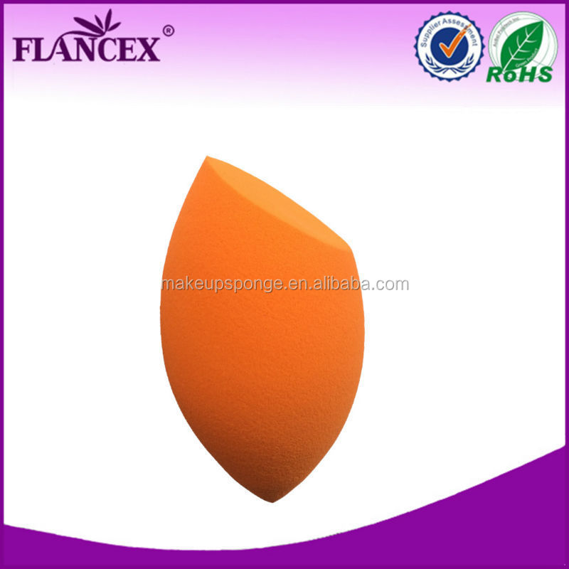 latex free mango shape makeup sponge