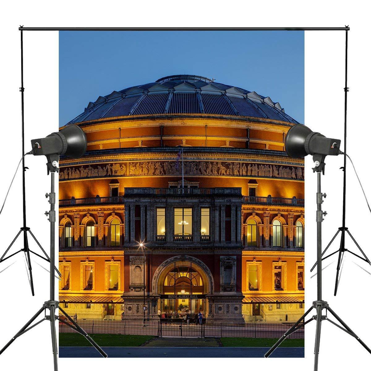 ERTIANANG 150x220cm Royal Albert Hall Photography Background London Architecture Backdrop Night Viem Theme Studio Background