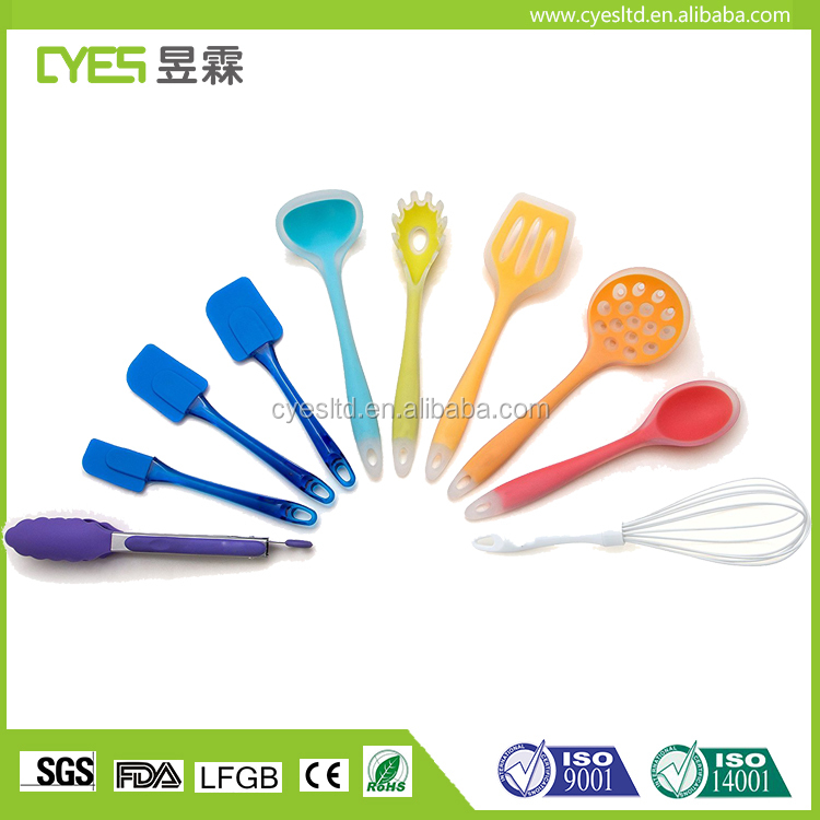 100 Food Grade Silicone Kitchen Dining Cooking Tools Baking Non Stick Durable Utensil Set