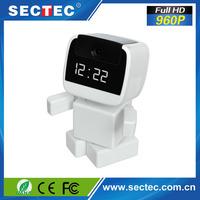 SECTEC Home security robot p2p indoor 960p hd wifi ip camera