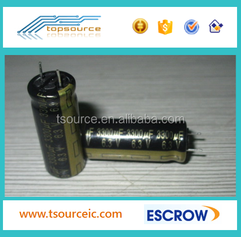IC New And Original Electrolytic capacitors 3300uf 6.3V 10*20