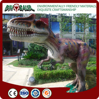 Outdoor customized realistic rubber dinosaur