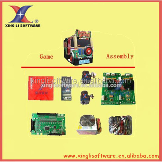 1 set of (Accessory) Shooting machine, arcade machine, video game machine