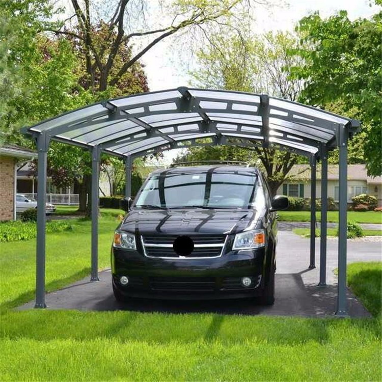Portable Metal Garage Canopy Carport Car Shelter For Two ...