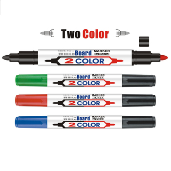 double end whiteboard marker pen wet erase markers with for office school