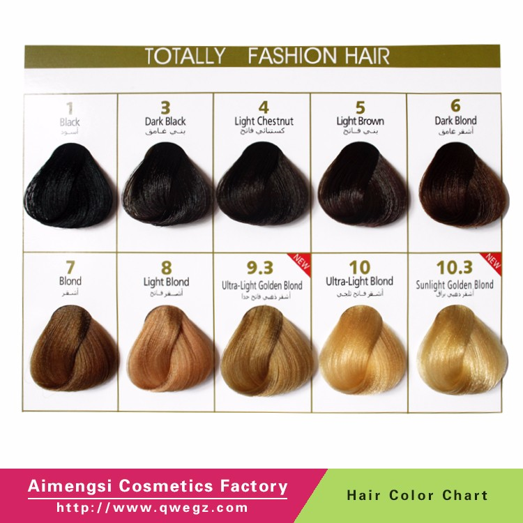 Hotsale Iso Hair Coloring Schwarzkopfe Hair Color Swatch Chart For