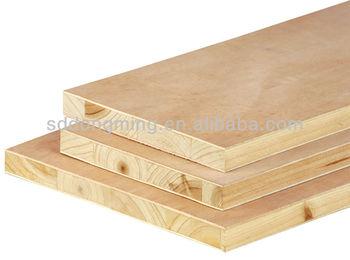 ökologische Plattemelamin Gesicht Sperrholztischlerplatte Buy