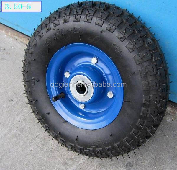 wheel barrow spoke wheels 3.50-5