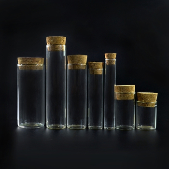 0.5ml 1ml 2ml 3ml 5ml 6ml 10ml 20ml 30ml 40ml 50ml 60ml 100ml wholesale glass vials glass wishing bottle with cork