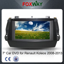 8 inch touch screen dvd car audo navigation system for renault koleos