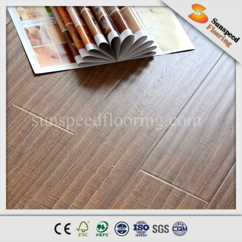 Thermowood Decking Swiftlock Handscraped Hickory Laminate Flooring