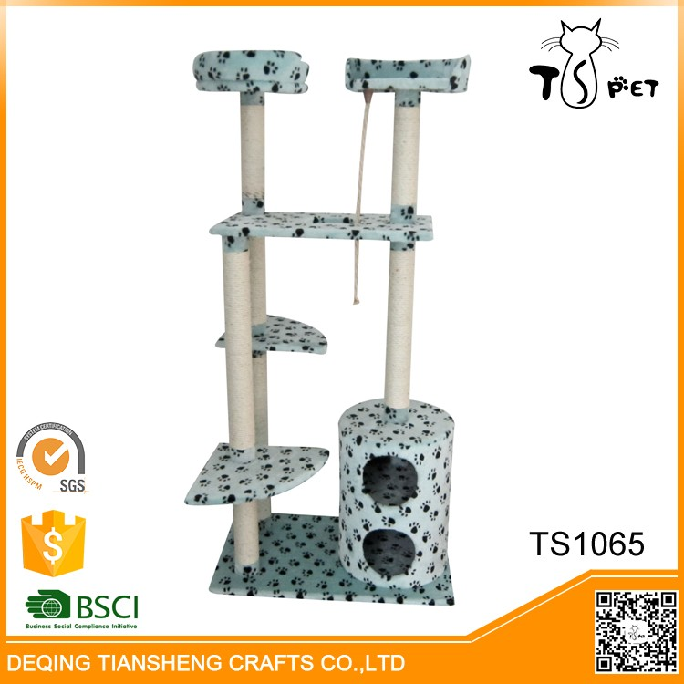 Promotional Best Quality Fashion Manufacturer Cat Scratcher Tree