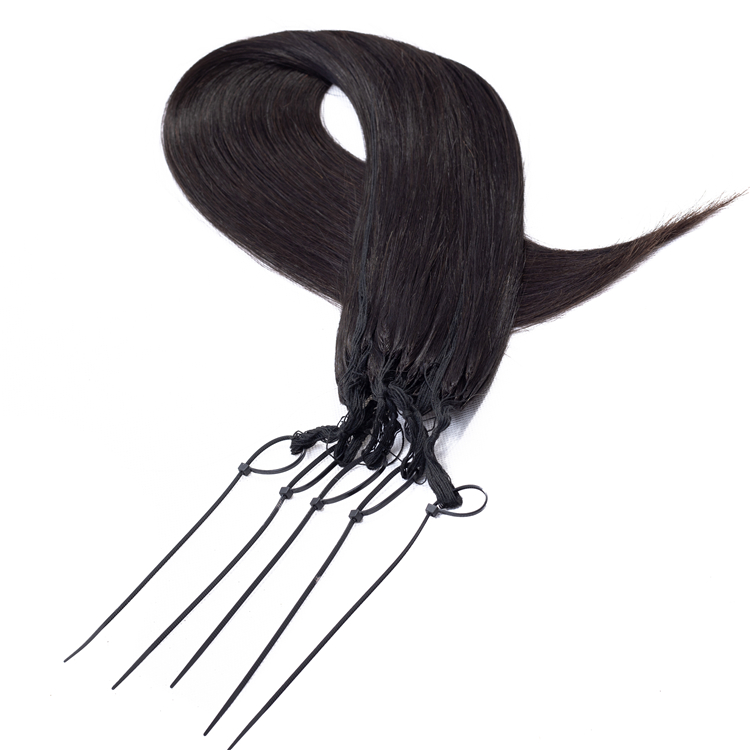 Top Kwaliteit Geen Wirwar Remy Maagd Peruaanse Haar Real Natural Feathers Hair Extension