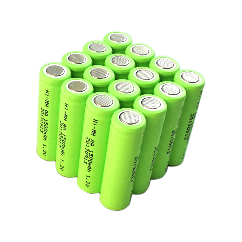 nimh aa 1500mah rechargeable battery 1.2v for power tools, electric toys, lamps