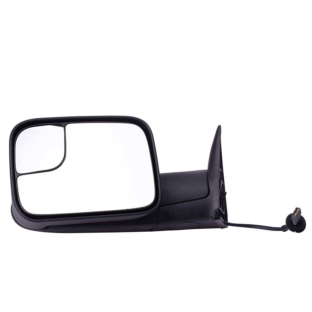 DEDC Dodge Towing Mirrors Dodge Ram Tow Mirrors Left Driver Side Power Operation Manual Folding For 1994-1997 Dodge Ram 1500 2500 3500 Truck 1994 1995 1996 1997