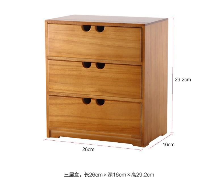 Wooden drawer storage box tool slides wood