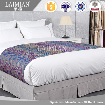 Hotel Bedding Set Decorative Jacquard Bed Runners