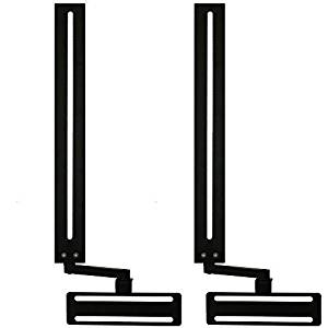 Get Quotations Soundbar Speaker Mount With Depth Adjustments For Tv Wall Brackets