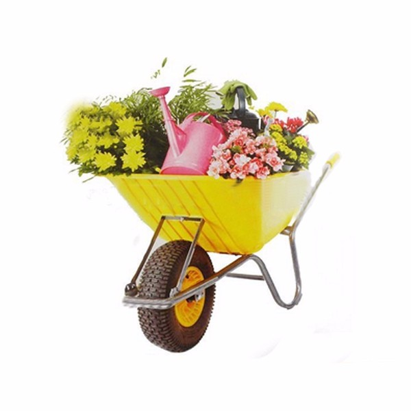 UK Building Construction Farm Tools And Names Hand Tools Garden Leaf Cart  Wheelbarrow With CE Certificate