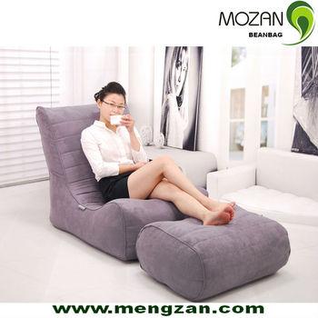 Camur a de alta qualidade sala de estar sof beanbag com - Sofas de descanso ...