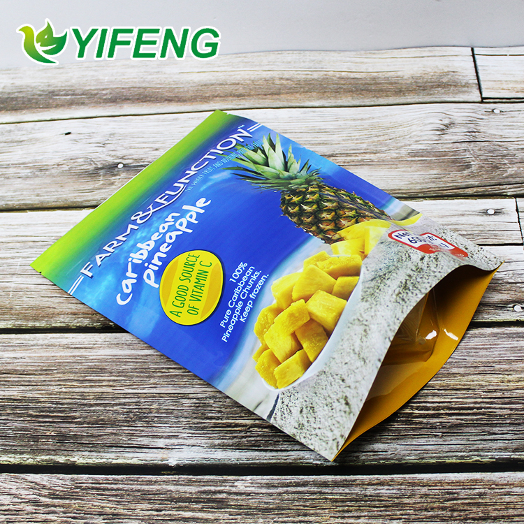 Food Grade Customizable printing plastic food bags Stand Up pouch Cashew Nut Packaging Bag With Resealable Ziplock