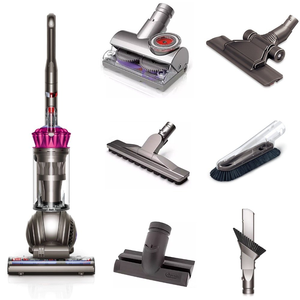 Get Quotations · Dyson Ball (formerly DC65) Animal + Allergy Multifloor  Origin Upright Vacuum with 6 Tools