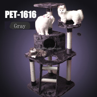 Top quality low price multi-functional cat tree pets toy for cats scratcher