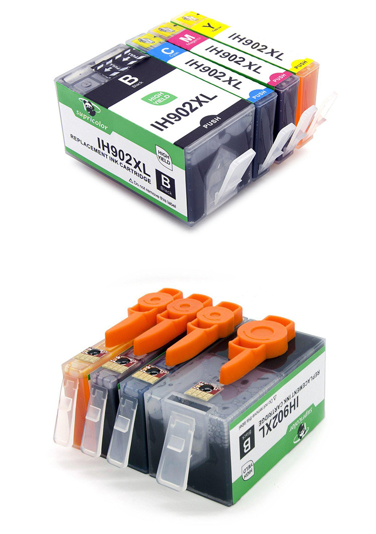 Supricolor North America new compatible for hp ink cartridge 906 906xl 902 902xl