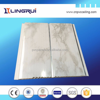 High Quality Decorative Plastic Building Materials Bathroom Pvc Wall Cladding For Uk Market Pvc Ceiling