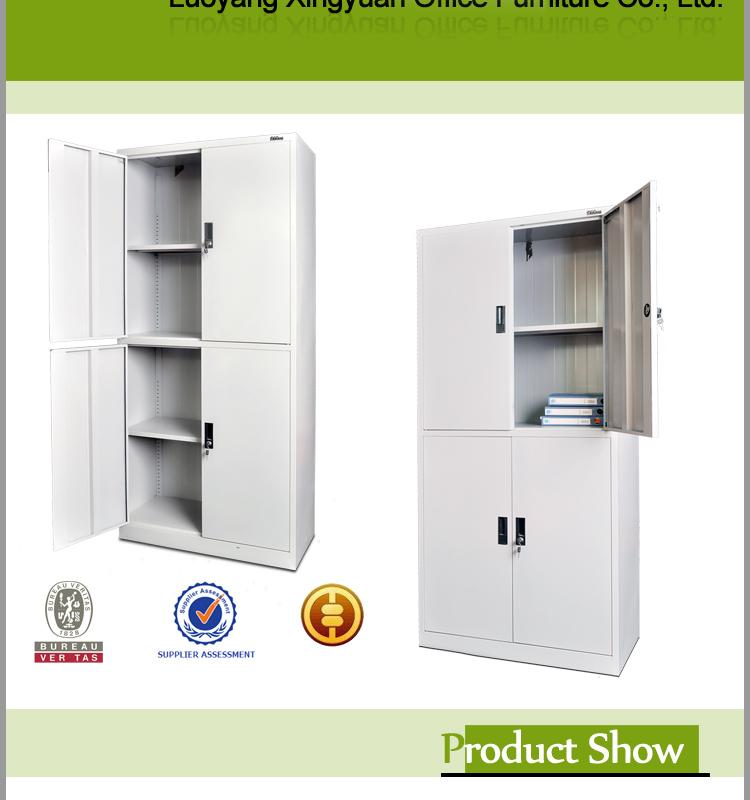 acero estante para libros gabinete lateral diseos de las puertas delanteras con estanteria dentro