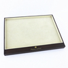 Hot Sale Customized Simple Luxury Jewellery Tray Glasses Watch Jewelry Display Trays Wooden Tray