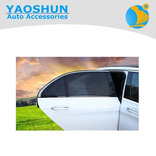 Nylon material universal Car Rear Window Sunshade
