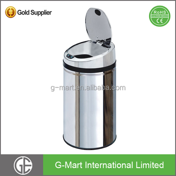 30L Wholesale Stainless Steel Airtight Removable Garbage Bin