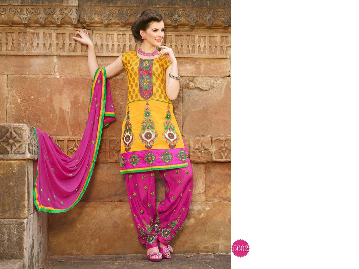 f4ec0f73fe Factory rate Patiala salwar suits dresses unstitched new design in wholesale  salwar kameez