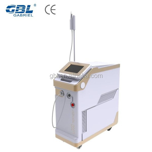 Popular nd yag laser/hair remover/face lifting fiber laser device for beauty salon