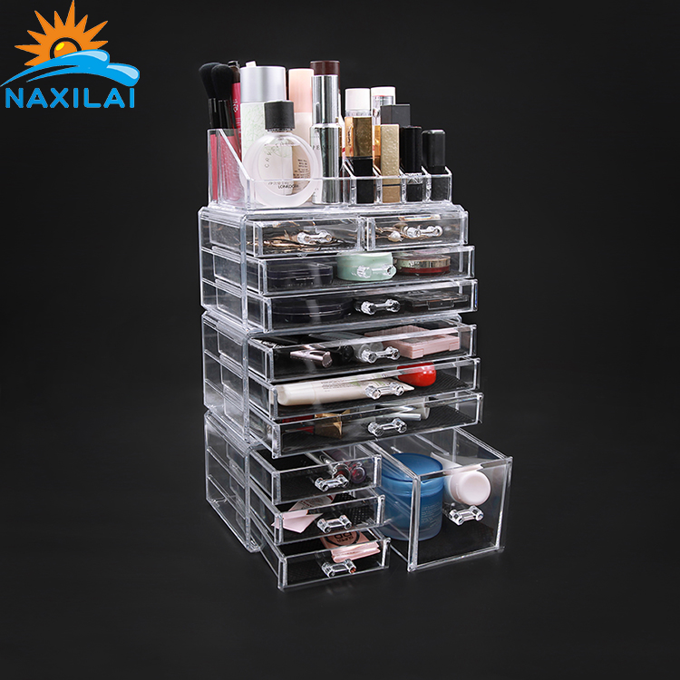 Transparent Acrylic Cosmetic Organizer Cosmetic Storage Box