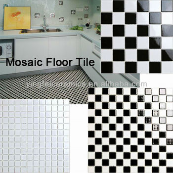 China Mosaic Floor Tile Y4803 Size Of 48x48mm 2x2 23x23mm 1x1