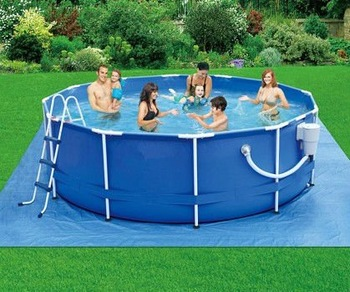 12 39 x 36 metal frame plastic swimming pools buy plastic for Piscinas de plastico desmontables