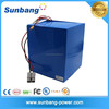 High Capacity rechargeable lithium battery 60v 40ah battery for Electric Scooter/power tools