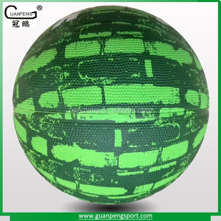 no. 7 Cheap Synthetic Rubber Basketball
