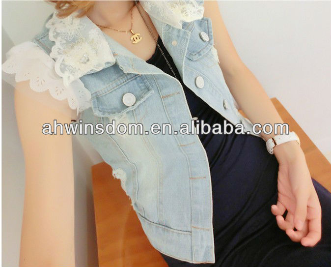 Chaleco Buy Lace Abrigos Estilo Moda Corea Nueva 2013 Mujer Jeans aqpYxPwC