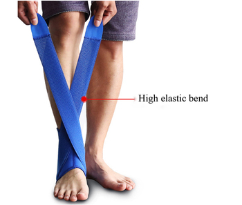 Gorgeous and Blue Comfortable Volleyball Ankle Brace Support Sleeve For Pain Beat