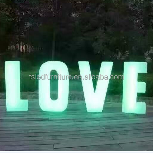 2017 popular led front lit channel letter signs,decorative plastic led letters with waterproof led