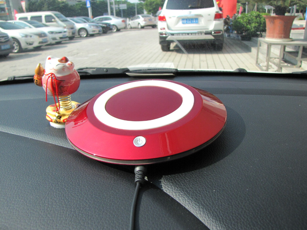 Bmn909 1 Red Portable Car Air Purifier Ozone Generator For Car Small Space