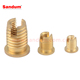 M5 self tapping threaded inserts for plastics