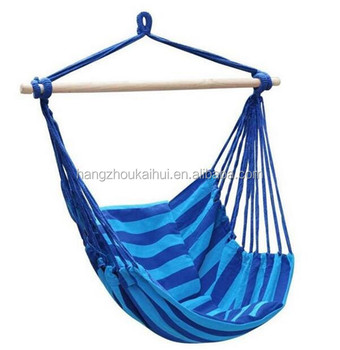 Hanging Rope Hammock Chair Swing Seat Large Brazilian Hammock Net